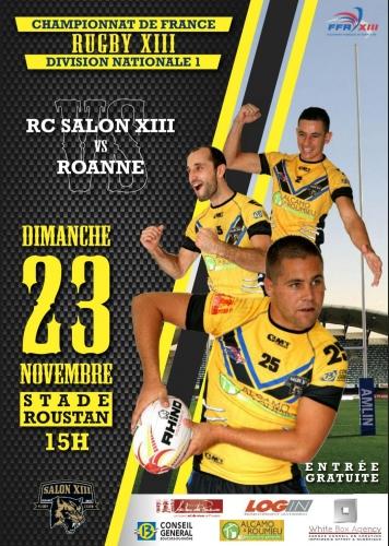 Partenariat avec le Club de Rugby XIII de Salon de Provence